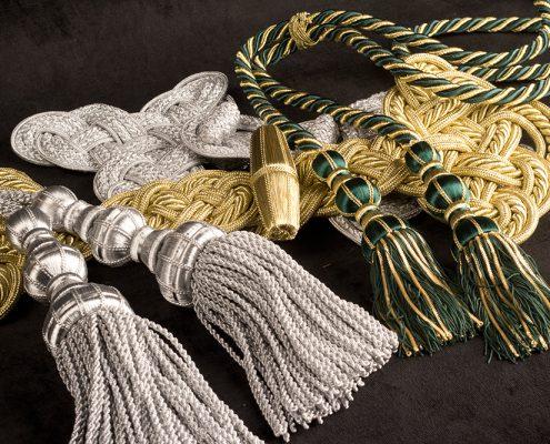 ornamentos sacerdotales, complementos liturgicos, pasamanerias