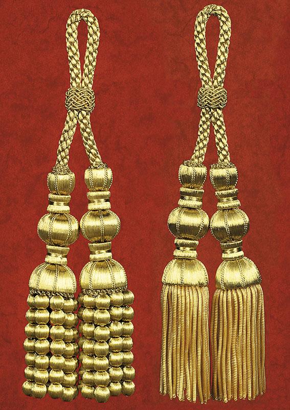 cordones nazareno, ornamentos liturgicos