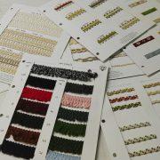 complementos textiles para moda, pasamanerias