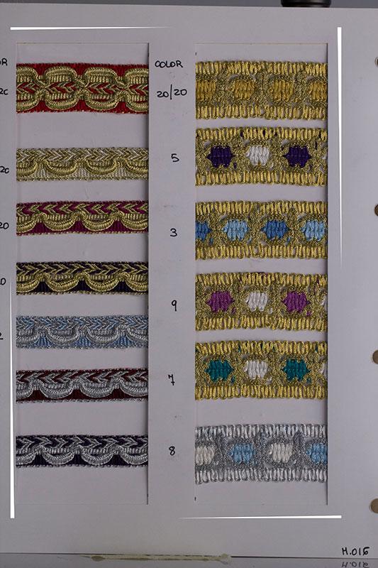 Pasamaneria tapiceria, galones para tapizar, fabricantes